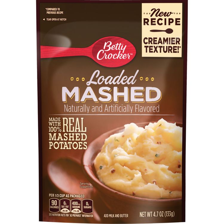 Betty Crocker Loaded Mashed Potatoes, 4.7 oz