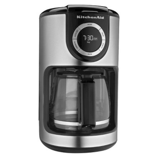 KitchenAid 12-Cup Class Carafe Coffee Maker KCM1202OB