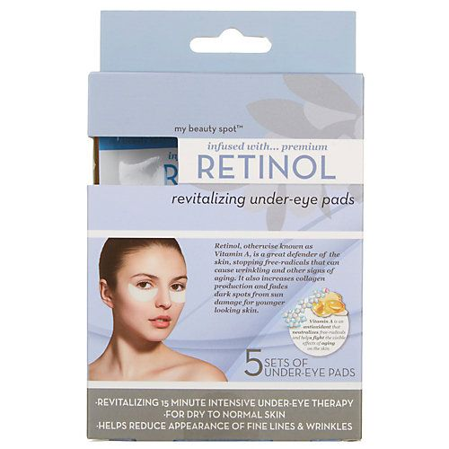 My Beauty Spot Retinol Under Eye Pads-One Size, WHITE