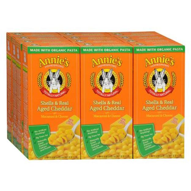 Annie's®  Homegrown Organic Macaroni & Cheese Shells & Aged Cheddar