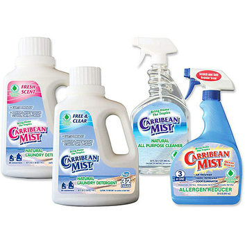 Carribean Mist Eco Friendly Laundry and Household Kit