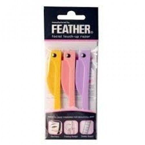 FEATHER Flamingo facial touch-up razor RFLS-P