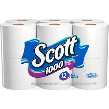 Scott 1000 Sheets Bathroom Tissue