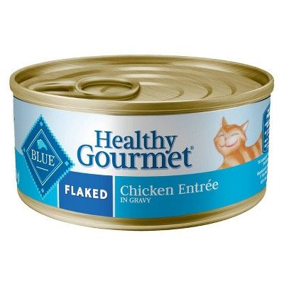 Blue Buffalo Adult Healthy Gourmet Flaked Chicken Entrée - Wet Cat Food - 5.5oz Reviews 2020