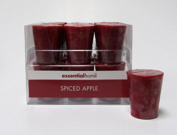 Essential Home Spiced Apple Scented Votive Candle - dynamic designs