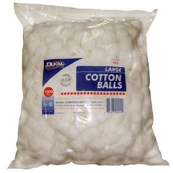 Large Cotton Balls 1000 Count