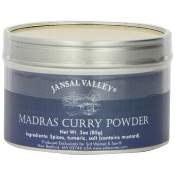 Jansal Valley Madras Curry Powder, 3 Ounce