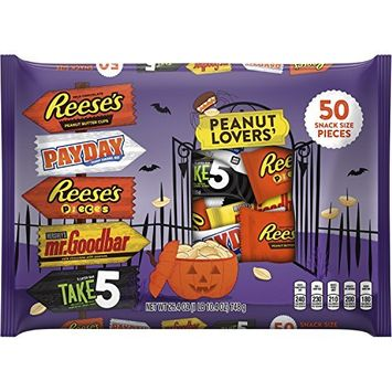 Hershey's Peanut Lovers Snack Size Candy Assortment