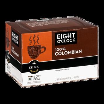 Eight O'Clock Keurig Brewed Coffee 100% Colombian Medium Roast - 12 CT
