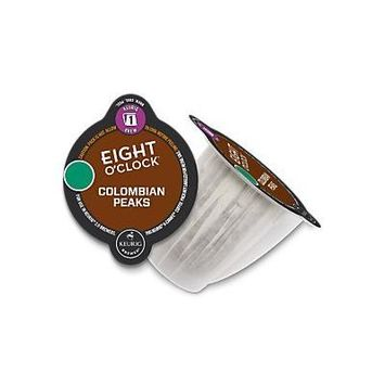 Eight O'Clock Coffee Colombian Peaks Keurig 2.0 Carafe Pods, 8 Count