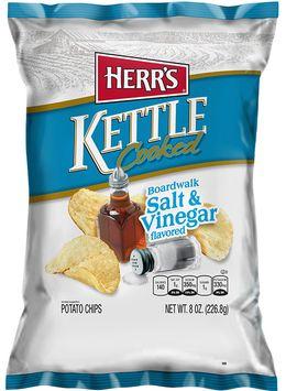 Herr's® Boardwalk Salt & Vinegar Kettle Cooked Potato Chips