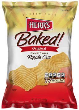 Herr's® Ripple Baked Crisps