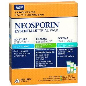 Neosporin Eczema Essentials Trial Pack