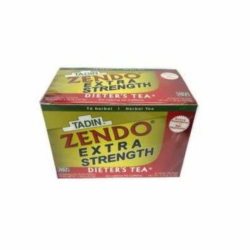 3 PACK - Zendo Extra Fuerte Tadin Tea - Dieters Tea 72 Tea Bags