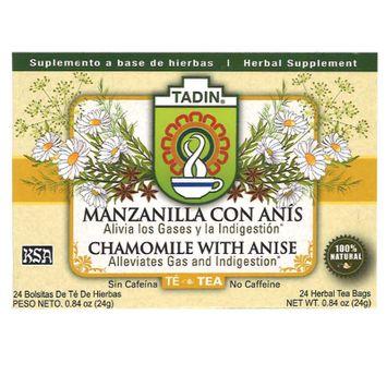 Tadin Herbal Tea - Chamomile With Anise (24 Tea Bags)