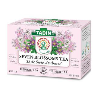Tadin Siete Azahares Herbal Seven Blossoms Tea 24 ct