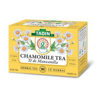 Tadin Manzanilla Con Anis Chamomile With Anise Tea 24 ct