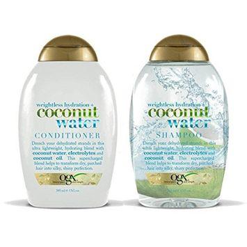 Organix Weightless Hydration Coconut Water Shampoo/Conditioner Set 13oz