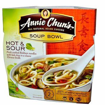 Annie Chun's Hot & Sour Soup Noodle Bowl, 5.7-Ounce Bowls