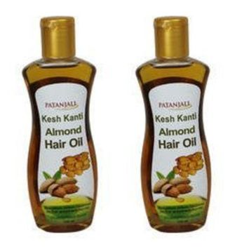 Patanjali Kesh Kanti Almond Hair Oil pack of 2