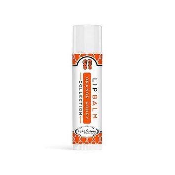 PureFactory Naturals Flip Flop Lip Balm 0.15 Oz. - Orange Honey