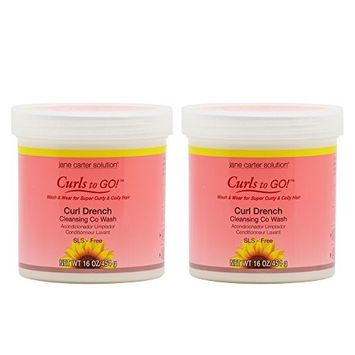 Jane Carter Curls to Go Curl Drench Cleansing Co Wash 16oz / 454g