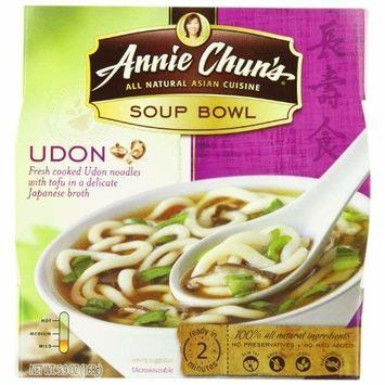 Annie Chun's Udon Soup Noodle Bowl, 5.9-Ounce Bowls