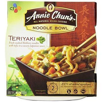 Annie Chun's Teriyaki Noodle Bowl, Non-GMO, Vegan, 7.8-oz (Pack of 6), Japanese-Style