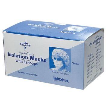 Isolation Face Masks - 50 per Box