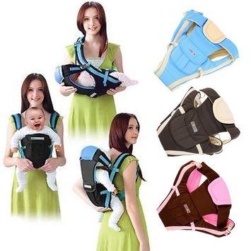 Adjustable Baby Carrier Infant Newborn Kid Comfort Wrap Rider Sling Backpack