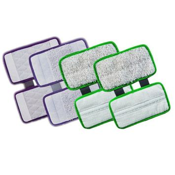 ESC ? Pack of 4 Replacement Pad Carpet Cleaning Pad Scrub Hard Floor Microfiber for Shark Sonic Duo KD450W, KD400W, SP1000, ZZ500, ZZ510 XTCRU500