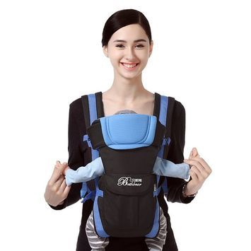 Adjustable Newborn Infant Baby Carrier Comfortable Wrap Rider Sling Breathable Backpack Pouch Shoulder Strap Baby Kangaroo