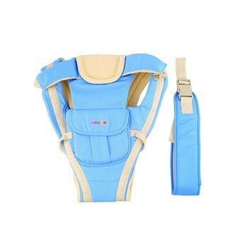 Adjustable Baby Carrier Infant Newborn Kid Comfort Wrap Rider Sling Backpack Blue~~