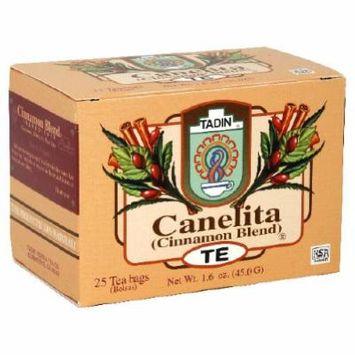 Tadin, Tea Canelita, 25-Bag (6 Pack)