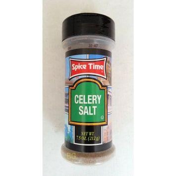 Celery Salt. CELERY SALT Seasoning by Spice Time 7.5 oz... mtc