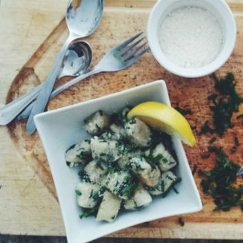 What's For Dinner?: Spinach Gnocchi