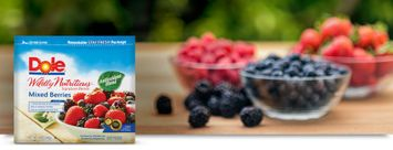 Dole Wildly Nutritious  Mixed Berries