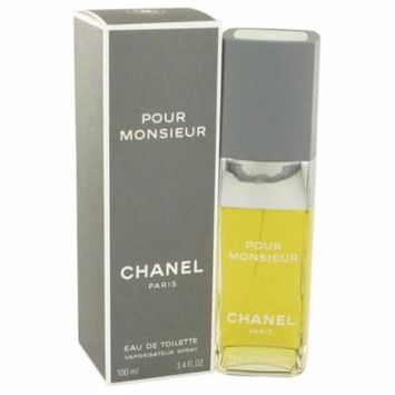 Chanel Men by Chanel Eau De Toilette Spray 3.4 oz