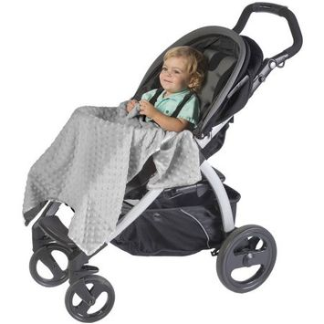 Jl Childress J.L. Childress Cuddle 'N Cover Stroller Blanket, Gray