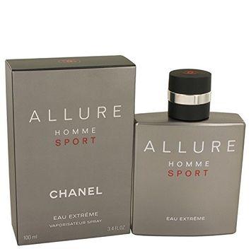 Chånel Allurë Hommë Spört Eäu Extrëme Cŏlogne For Men 3.4 oz Eau De Parfum Spray + FREE VIAL SAMPLE COLOGNE