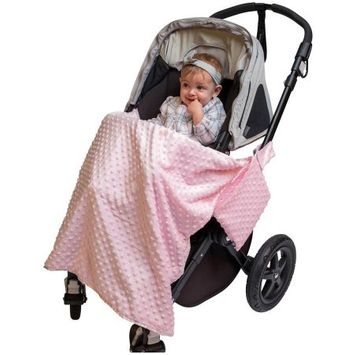 Jl Childress J.L. Childress Cuddle 'N Cover Stroller Blanket, Pink