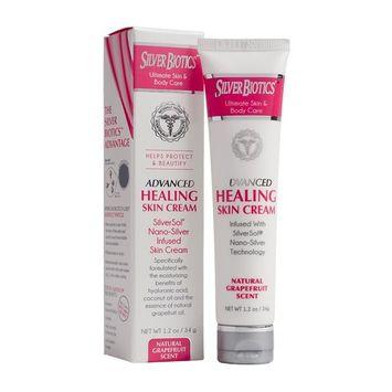 American Biotech Labs Silver Biotics Advanced Healing Skin Cream Grapefruit 1.2oz [Grapefruit]