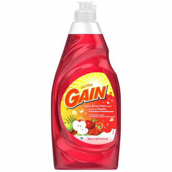 Gain Ultra Apple Berry Twist Scent Dishwashing Liquid