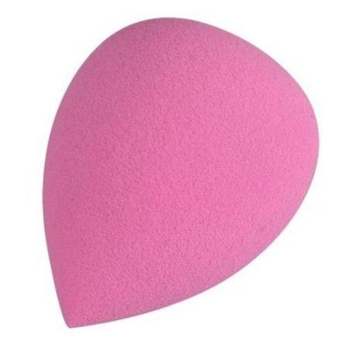 Flawless Makeup Blender Comestic Sponge Puff, Teardrop, Pink