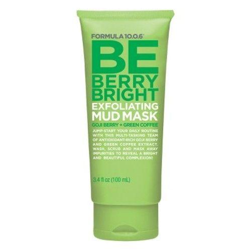 Formula 10.0.6 Be Berry Bright Exfoliating Mud Mask - 100ml