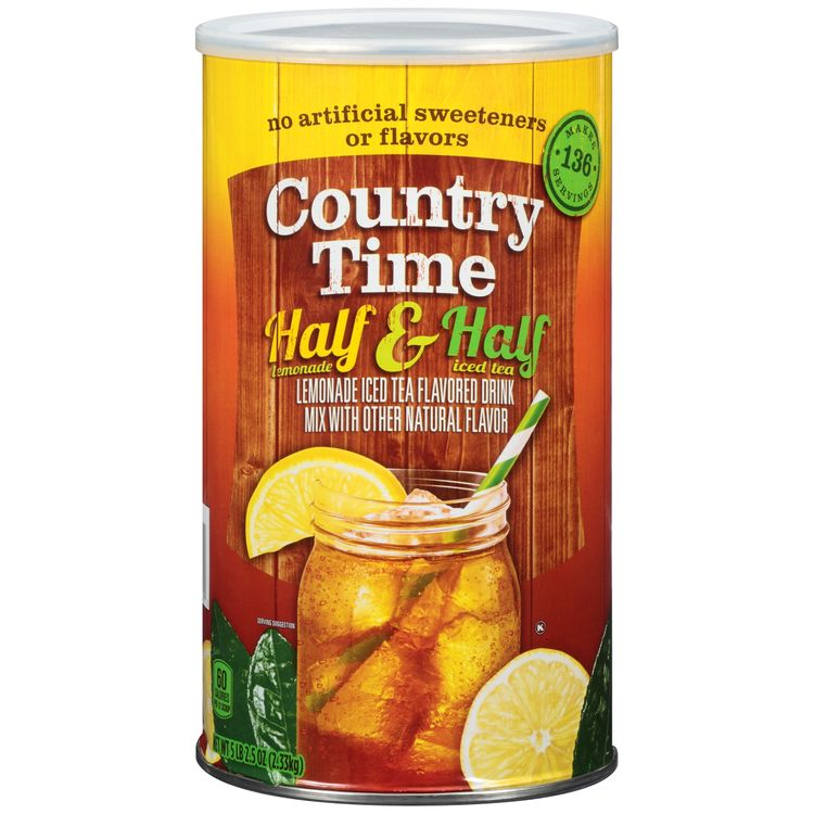 Country Time Half Lemonade & Half Iced Tea Drink Mix ...