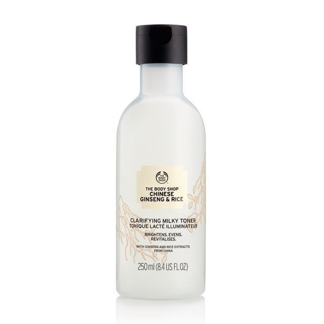 THE BODY SHOP® Chinese Ginseng & Rice Clarifying Milky Toner