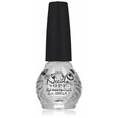 Nicole by OPI Nail Treatment, Top Coat Plus, 0.5 Fluid Ounce