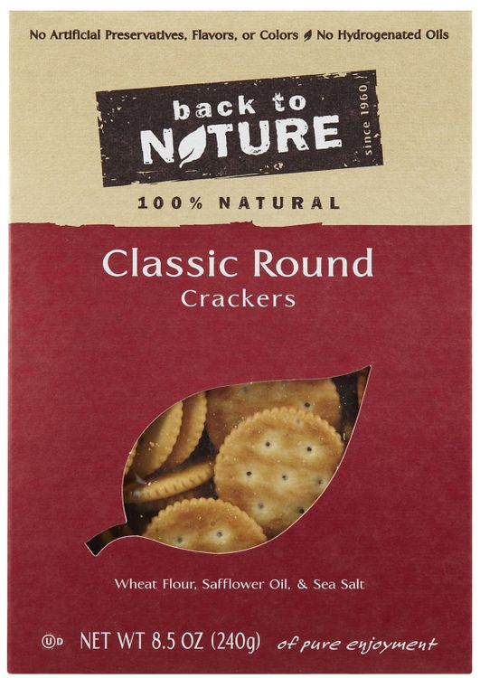 Back To Nature Classic Rounds Crackers - 1 ct.