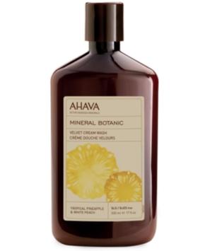 Ahava Mineral Botanic Tropical Pinapple & White Peach Velvet Cream Wash